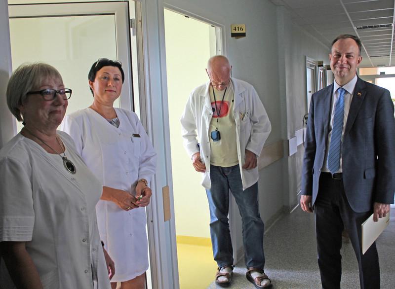 Ministro logika: neliks žmonių – nereikės ir ligoninės